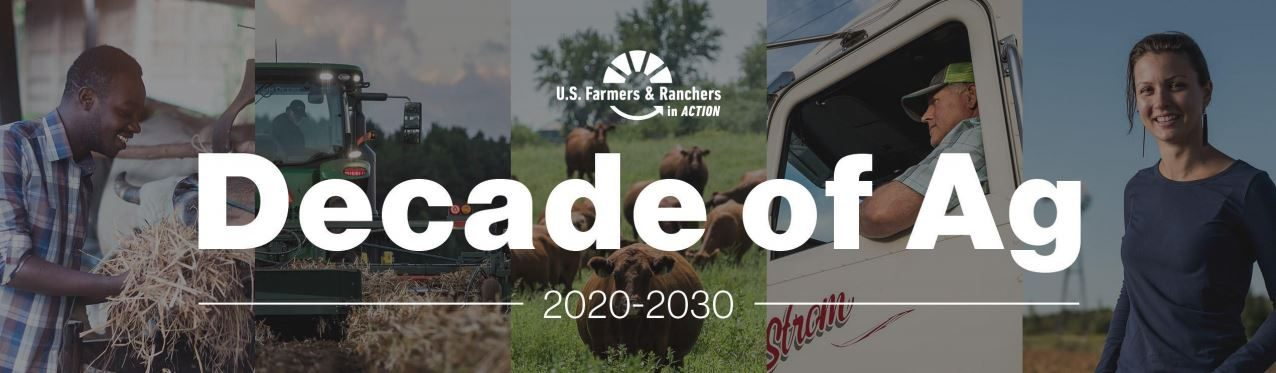 Decade of Ag banner